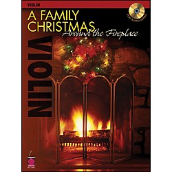 Cherry Lane A Family Christmas Around The Fireplace For Violin Book/CD (2500625)