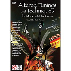 Cherry Lane Altered Tunings And Techniques For Modern Metal Guitar (Dvd) (2501457)