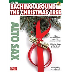 Cherry Lane Baching Around The Christmas Tree (Alto Sax) Book/CD (2501172)