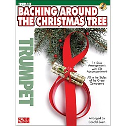 Cherry Lane Baching Around The Christmas Tree (Trumpet) Book/CD (2501168)