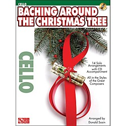 Cherry Lane Baching Around The Christmas Tree For Cello Book/CD (2501164)