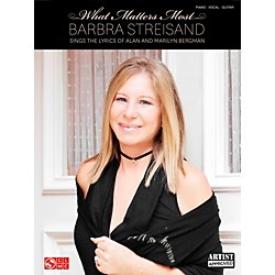 Cherry Lane Barbra Streisand - What Matters Most for Piano/Vocal/Guitar PVG (2501722)