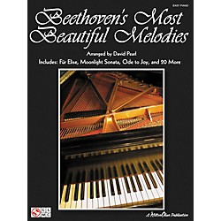 Cherry Lane Beethoven's Most Beautiful Melodies For Easy Piano (2500972)