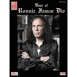 Cherry Lane Best Of Ronnie James Dio Tab Book (2501448)