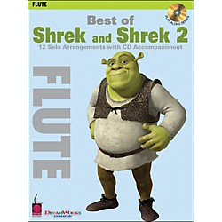 Cherry Lane Best Of Shrek And Shrek 2 For Flute Book/CD (2500761)