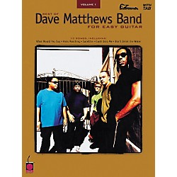 Cherry Lane Best of Dave Matthews Band for Easy Guitar Volume 1 (2500315)