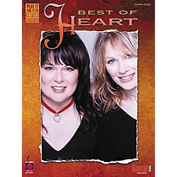 Cherry Lane Best of Heart Guitar Tab Songbook (2500387)
