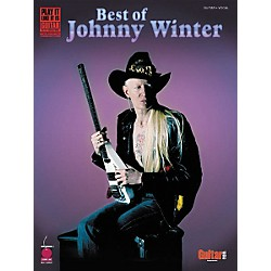 Cherry Lane Best of Johnny Winter Guitar Tab Songbook (2500431)