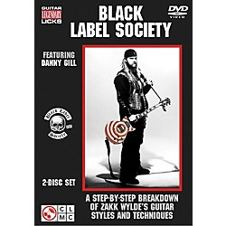 Cherry Lane Black Label Society: Legendary Licks Guitar DVDs (2500983)