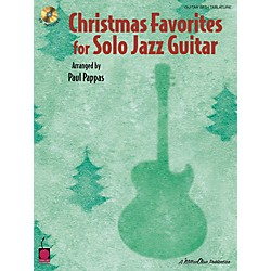Cherry Lane Christmas Favorites for Solo Jazz Guitar Tab Songbook with CD (2500770)