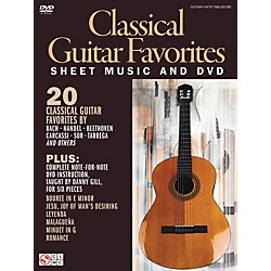 Cherry Lane Classical Guitar Favorites Book/DVD (2501619)