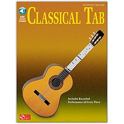 Cherry Lane Classical Tab Guitar Songbook Book/CD (114447)
