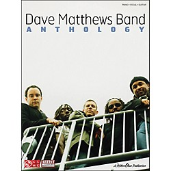 Cherry Lane Dave Matthews Band Anthology arranged for piano, vocal, and guitar (P/V/G) (2501047)