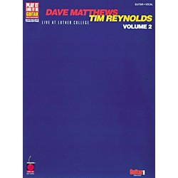 Cherry Lane Dave Matthews Tim Reynolds Live at Lutner Colle Volume II Guitar Tab Songbook (2500611)