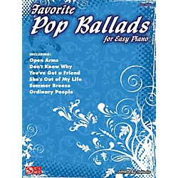 Cherry Lane Favorite Pop Ballads For Easy Piano (2501005)