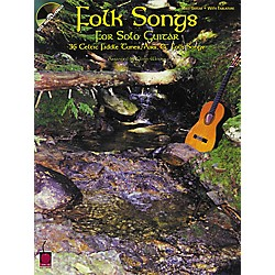 Cherry Lane Folk Songs for Solo Guitar Songbook with CD (2502168)