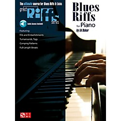 Cherry Lane Great Blues Riffs For Piano Book/CD (2503615)