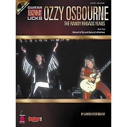 Cherry Lane Guitar Legendary Licks Ozzy Osbourne The Randy Rhoads Years Book with CD (2500349)