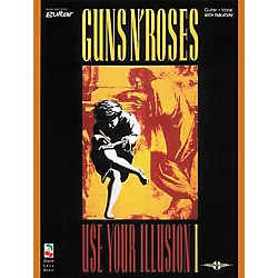 Cherry Lane Guns N' Roses Use Your Illusion 1 Guitar Tab Songbook (2501193)