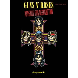 Cherry Lane Guns N Roses  Appetite For Destruction for Piano/Vocal/Guitar (2507935)