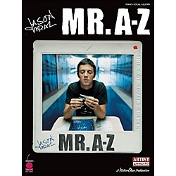 Cherry Lane Jason Mraz - Mr. A-Z arranged for piano, vocal, and guitar (P/V/G) (2500863)