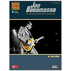 Cherry Lane Joe Bonamassa Legendary Licks Book/CD (2501654)