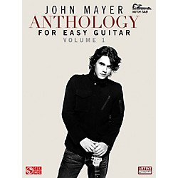 Cherry Lane John Mayer Anthology For Easy Guitar Tab (2501524)