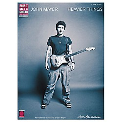 Cherry Lane John Mayer Heavier Things Guitar Tab Songbook (2500705)