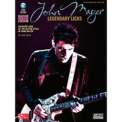 Cherry Lane John Mayer Legendary Licks Book/CD (2501635)