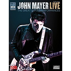 Cherry Lane John Mayer Live - The Great Guitar Performances Guitar Tab Songbook (2501513)