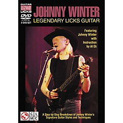 Cherry Lane Johnny Winter Legendary Licks Guitar DVD (Featuring Johnny Winter) (2501307)