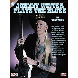 Cherry Lane Johnny Winter Plays The Blues (Book/CD) (2501389)