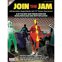 Cherry Lane Join The Jam - 8 Of The Best Backing Tracks Ever For Blues And Rock Guitar (Book/CD) (2501587)