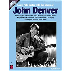 Cherry Lane Learn Folk Guitar With The Music Of John Denver Book/CD (2500758)