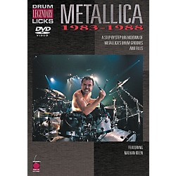 Cherry Lane Metallica - Drum Legendary Licks 1983-1988 DVD (2500482)