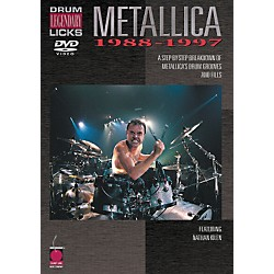 Cherry Lane Metallica - Drum Legendary Licks 1988-1997 DVD (2500485)