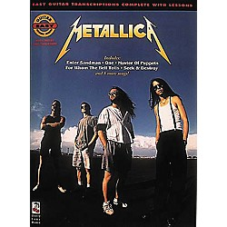 Cherry Lane Metallica Easy Guitar Tab Songbook (2506877)