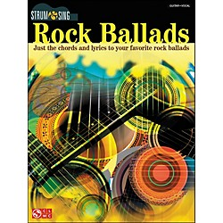 Cherry Lane Rock Ballads - Strum & Sing Series (2500872)