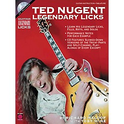 Cherry Lane Ted Nugent - Legendary Licks (Book/CD) (2500707)
