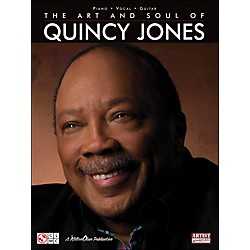 Cherry Lane The Art & Soul Of Quincy Jones arranged for piano, vocal, and guitar (P/V/G) (2501304)