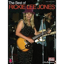 Cherry Lane The Best Of Rickie Lee Jones arranged for piano, vocal, and guitar (P/V/G) (2500834)