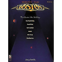 Cherry Lane The Best of Boston Piano-Vocal-Guitar Songbook (2502171)