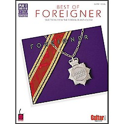 Cherry Lane The Best of Foreigner Guitar Tab Songbook (2500198)