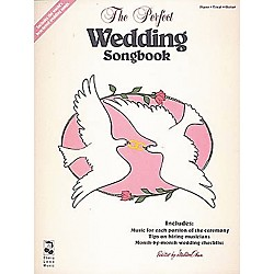 Cherry Lane The Perfect Wedding Piano, Vocal, Guitar Songbook (2507950)