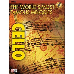 Cherry Lane The World's Most Famous Melodies For Cello Book/CD (2500931)