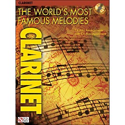 Cherry Lane The World's Most Famous Melodies for Clarinet Book/CD (2500928)