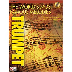 Cherry Lane The World's Most Famous Melodies for Trumpet Book/CD (2500932)