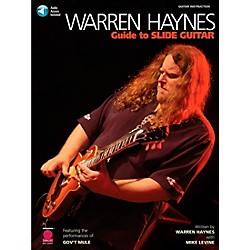 Cherry Lane Warren Haynes - Guide to Slide Guitar Book with CD (2500476)