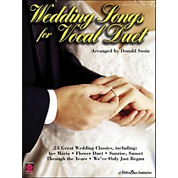 Cherry Lane Wedding Songs For Vocal Duet (2500735)