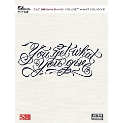 Cherry Lane Zac Brown Band - You Get What You Give Easy Guitar Tab (2501621)